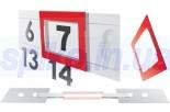 Окошки для календарей(2P,ширина календ. 290-330мм)