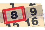 Окошки для календарей(2P,ширина календ.320-420мм)