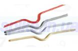 Металлические вешалки для календарей, длина 200мм, белый,черный